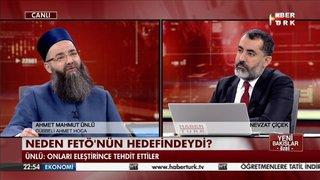 CÜBBELİ AHMET HOCA HABERTÜRK TV'DE NEDEN FETÖ'NÜN HEDEFİNDE OLDUĞUNU ANLATTI