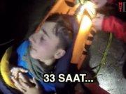 Genç dağcının 33 saati