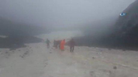 Genç dağcı 40 saatlik operasyonla böyle kurtarıldı