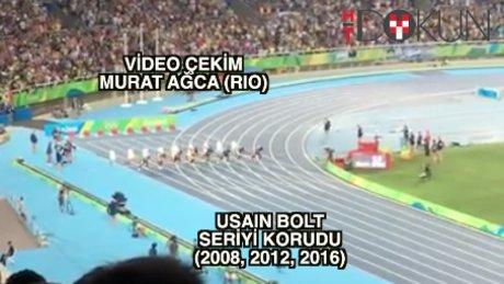 100 metre finalinin kazananı değişmedi