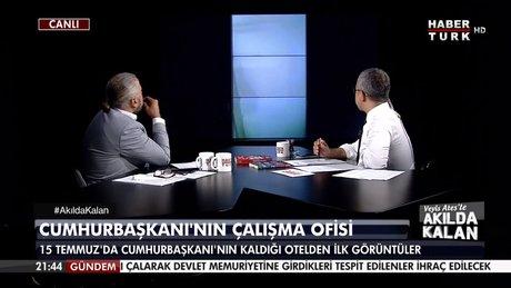Cumhurbaşkanı Erdoğan'ın Marmaris'teki oteldeki çalışma ofisinin görüntüleri ilk kez Habertürk TV'de