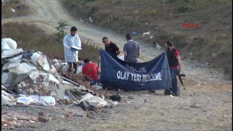 Alibeyköy baraj yolunda kelepçeli, tek kurşunlu infaz