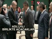 Erdoğan ve Feyzioğlu iki yıl sonra ilk kez