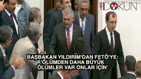 Başbakan Yıldırım: 'İdam bir sefer ölümdür ama...'
