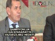 Dursun Özbek: 'Nokta transferlerle açıkları kapatıyoruz'