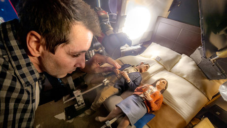 Yapımı 3 yıl süren Anomalisa filminin kamera arkası