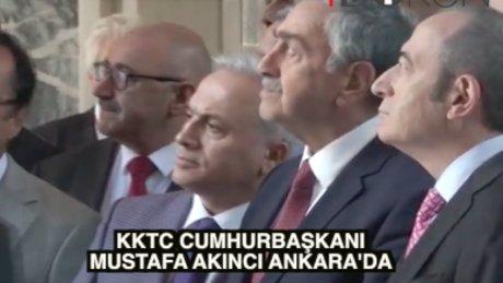 KKTC Cumhurbaşkanı Akıncı'dan TBMM'ye ziyaret