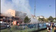 Elazığ'da emniyet müdürlüğü yakınında patlama meydana geldi