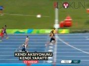 Bolt yine finişte 'yürüdü'