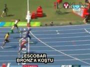 Escobar'dan 400 metrede bronz