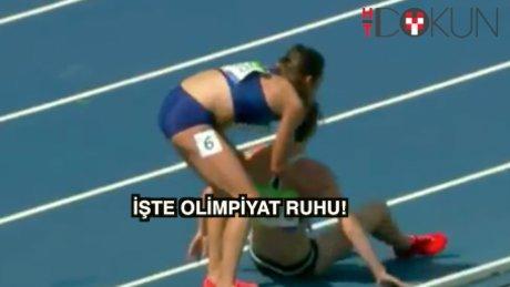Olimpiyata yaraşır hareketler