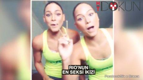 Rio'nun en seksi ikizi: Beatriz ve Franca Feres