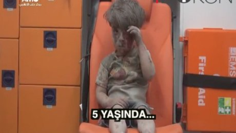 Halep'te bombaların hedefi yine çocuklar