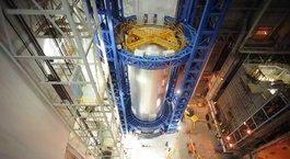 NASA'nın yakıt roketi yapımı
