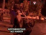 Adıyaman'da polis aracı devrildi: 1 şehit