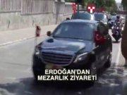 Cumhurbaşkanı Erdoğan Karacaahmet'teydi