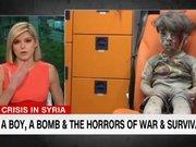 Spiker Suriye'de yaralanan Ümran'ı gözyaşları içinde anlattı