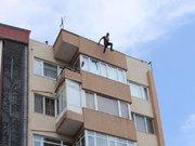 """Çatıdan atlayan genç, """"Ölmeyi bile beceremedim"""""""
