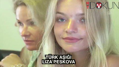 Türk aşığı Rus Liza: 'Savaşmayalım, aşk yaşayalım'