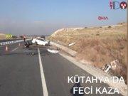 Kütahya'da trafik kazası: 3 ölü