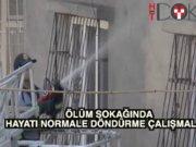 Gaziantep'te hayatı normale döndürme çalışmaları