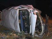 Minibüs ile motosiklet çarpıştı: 1 ölü, 3 yaralı