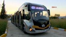 Bursa'da metrobüs üretiliyor