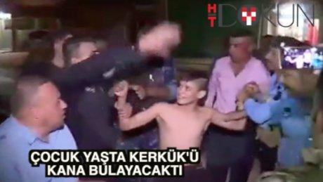 Yakalandı: Daha 13 yaşında, canlı bomba!