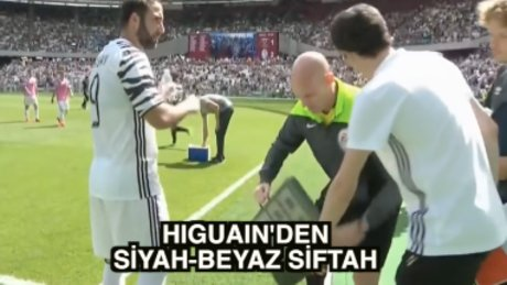 Higuain Juventus formasıyla siftah yaptı