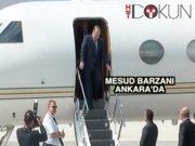Barzani Ankara'da: Erdoğan'la görüştü