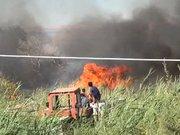 Siirt'te 300 dönümlük orman yandı