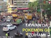 Tayvan'da Pokemon izdihamı