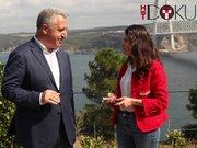 Ulaştırma Bakanı Arslan Kübra Par'a konuştu!