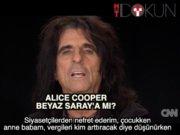 Alice Cooper başkanlığa aday