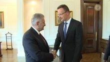 Başbakan Yıldırım, Macaristan Dışişleri Bakanı Szijjarto'yu kabul etti
