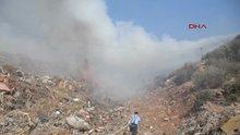 Bodrum'u dumana boğan çöplük yangını