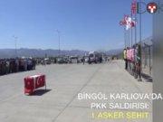 Uzman Çavuş Kerim Üye Bingöl'de şehit oldu