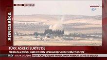 Türk tankları sınırdan içeriye girdi
