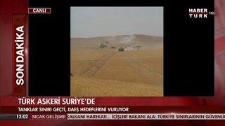IŞİD'E KARŞI TÜRK ORDU'SUNA DESTEK VEREN FARKLI GRUPLAR