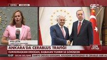 Cumhurbaşkanı Erdoğan, Hakan Fidan ve Hulusi Akar'ı kabul etti