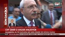 CHP lideri Kılıçdaroğlu saldırı sonrası Habertürk TV'ye konuştu