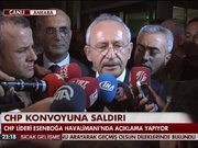 CHP lideri Kılıçdaroğlu Ankara'da!