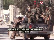 IŞİD ve PYD'nin gözü El Bab'da