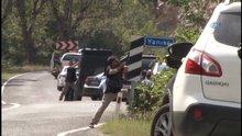 Kemal Kılıçdaroğlu'nun konvoyuna saldırı (Olay yerinden ilk görüntüler)