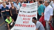 Kılıçdaroğlu'nun konvoyuna saldırı protesto edildi!