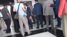 Bakan Tüfenkçi ile TOBB Başkanı asansörde mahsur kaldı