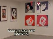 Londra'daki Saatchi Gallery'de kısa bir tur