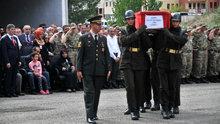 Artvin'de şehit olan Asker Fatih Çaybaşı için tören düzenlendi
