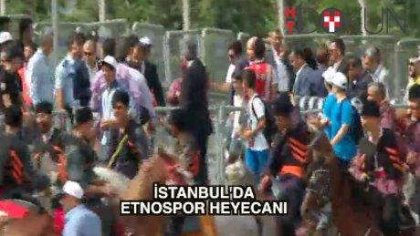 Etnospor Festivali kortejle başladı