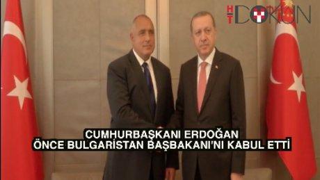 Erdoğan iki ülke lideriyle görüştü